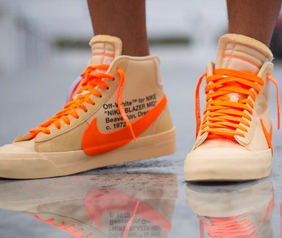 Off white x Nike Blazer Orange Spooky